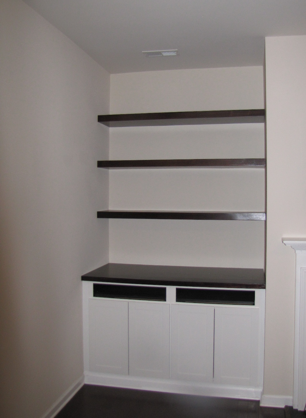 Budget Friendly Built In Bookcases Amp Cabinets In Durham Raleigh Nc